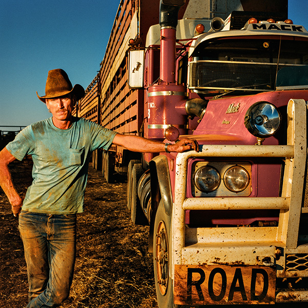 Ben Connolly Road train trucker Victoria River Downs, NT